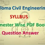Diploma Semester Wise E-Book for Civil