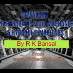Textbook of Fluid Mechanics & Hydraulic Machines