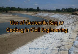 Uses of Geotextile Bag in civil engineering