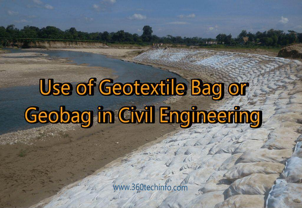 Uses of Geotextile Bag in civil engineering