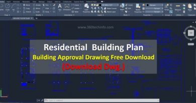 Building approval drawing
