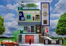 3bhk house plan front elevation 24 x 35 sq ft