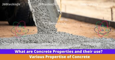 What are Concrete Properties and their use